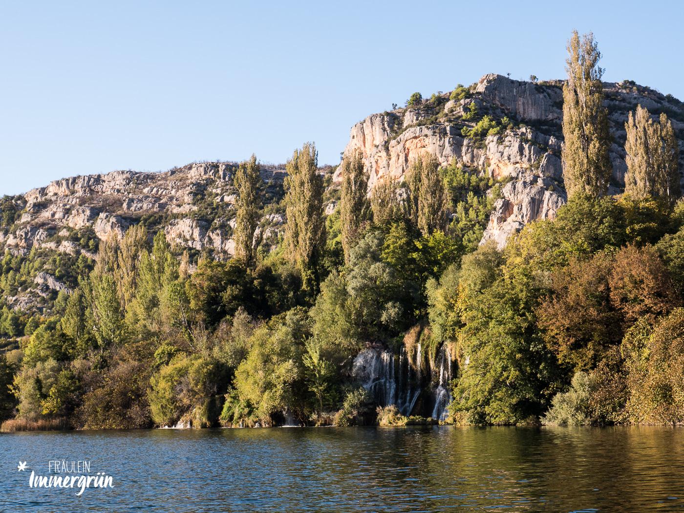 Dalmatien in Kroatien: Urlaub an der dalmatinischen Küste in der Nebensaison – Nationalpark Krka Roški slap