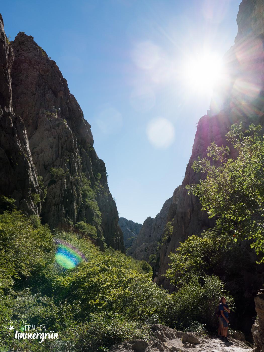 Dalmatien in Kroatien: Urlaub an der dalmatinischen Küste in der Nebensaison – Nationalpark Paklenica