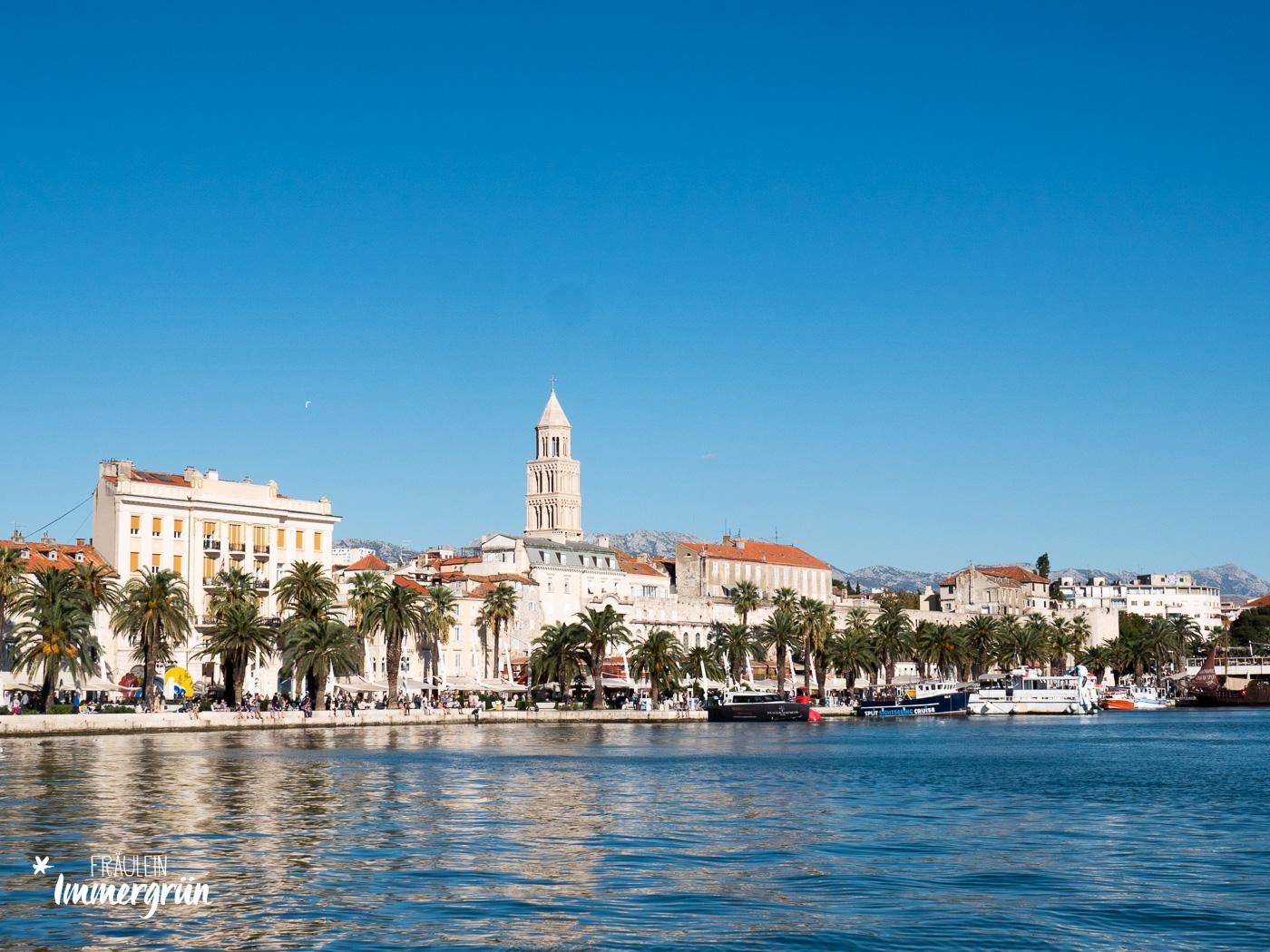 Dalmatien in Kroatien: Urlaub an der dalmatinischen Küste in der Nebensaison – Split