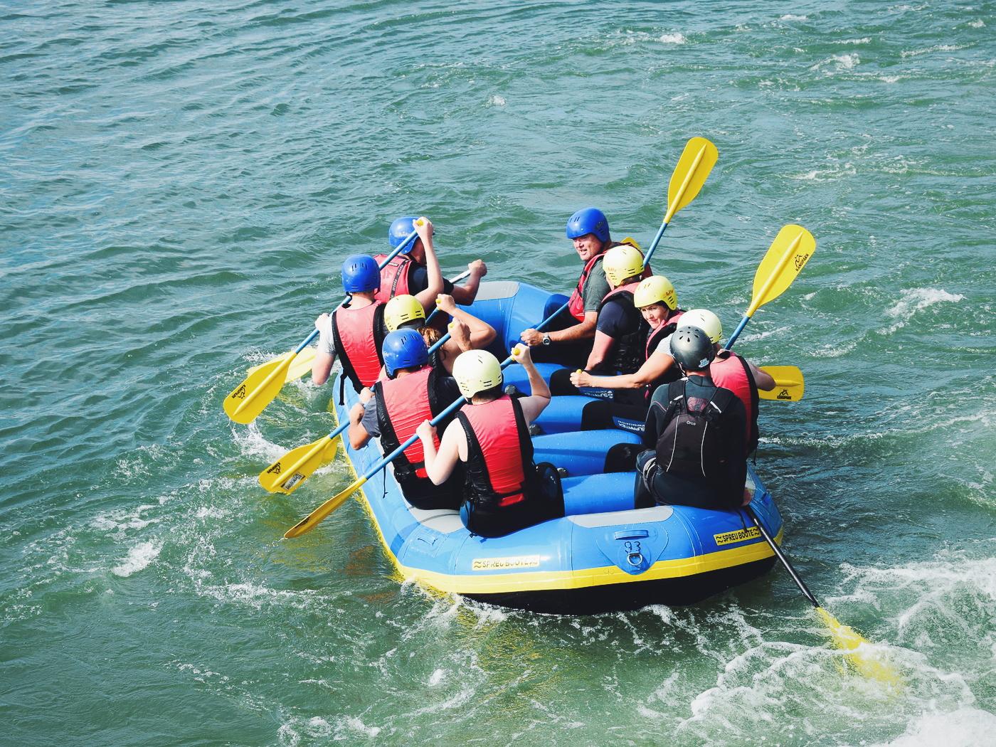 Wildwasser Rafting Kanupark Markkleeberg
