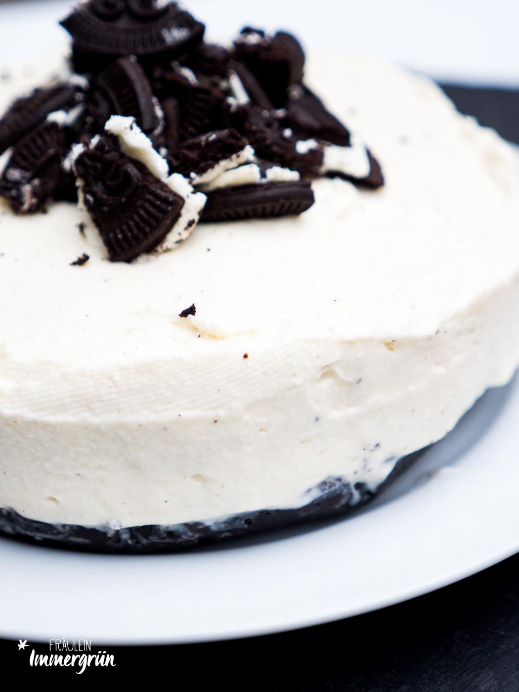 Oreo Cheesecake – einfacher Kuchen ohne Backen