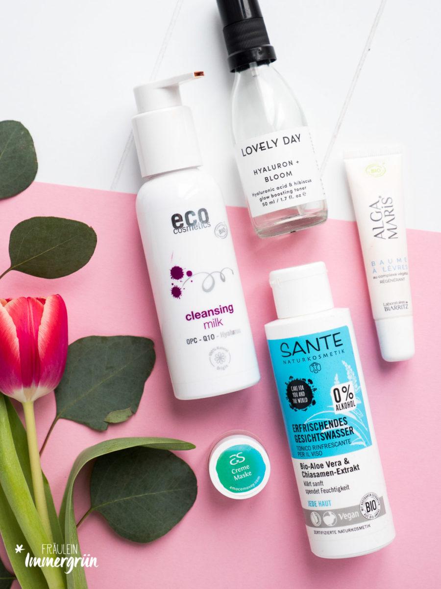 Naturkosmetik – natürliche und milde Gesichtspflege mit Eco Cosmetics, Lovely Day, Sante, Amo Como Soy, Laboratoires de Biarritz