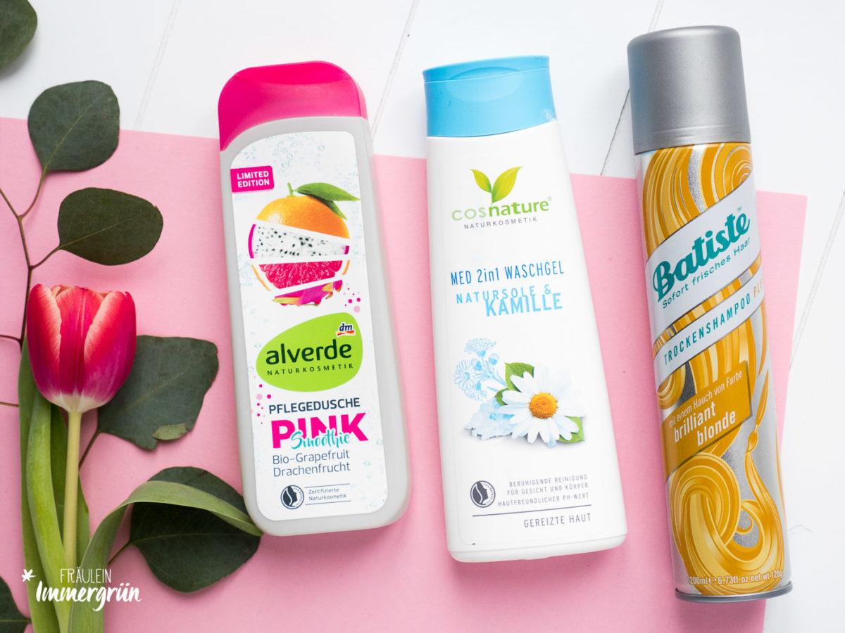 Naturkosmetik Hautpflege mit Alverde und Cos Nature