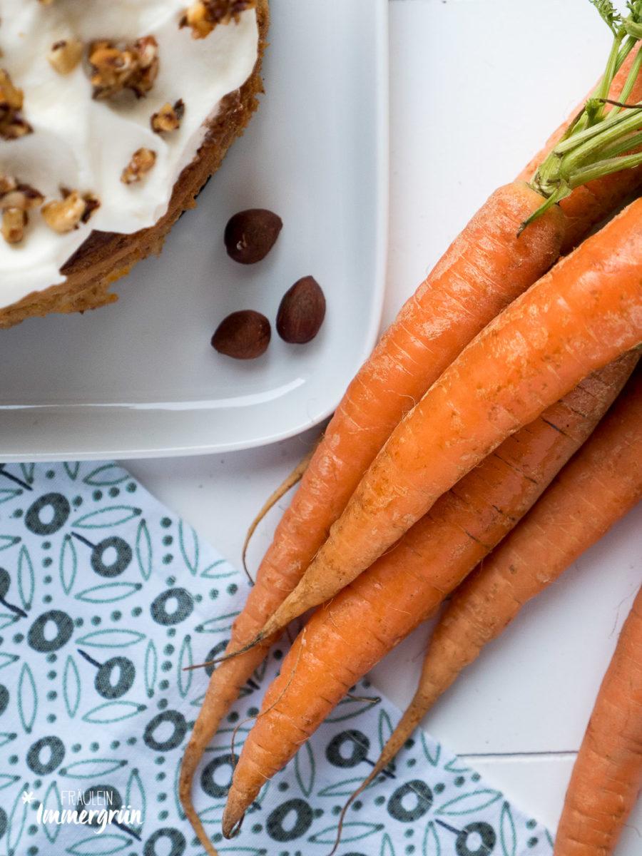 Carrot-Cheese-Cake: Möhrenkuchen trift auf Cheesecake