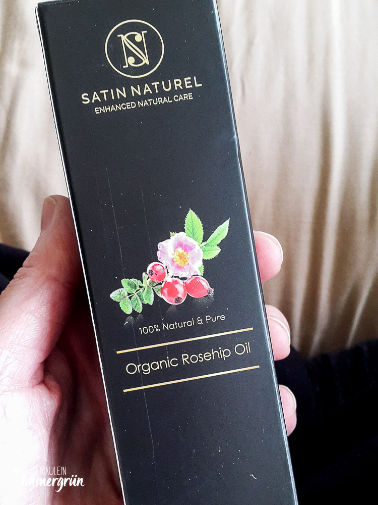 Narbenöl Satin Natural Organic Rosehip Oil